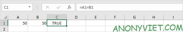 Bà 114: Toán tử so sánh trong Excel