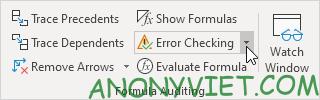 Bài 197: Tham chiếu vòng tròn trong Excel 78
