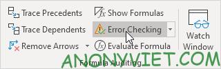 Bài 198: Nhóm Formula Auditing trong Excel 61