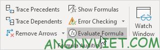 Bài 198: Nhóm Formula Auditing trong Excel 63