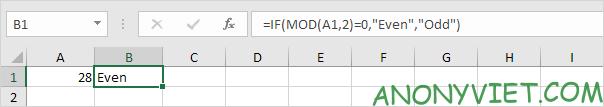 Bài 193: Cách sử dụng hàm Mod trong Excel 33