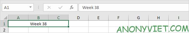 Bài 48: Cách Hợp nhất - Gộp ô trong Excel 36