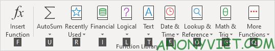 Bài 74: Các phím chức năng từ F1 đến F12 trong Excel 58