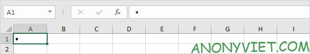 Bài 79: Cách sử dụng ký hiệu đầu dòng trong Excel