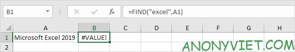 Bài 145: Cách sử dụng hàm FIND trong Excel 26