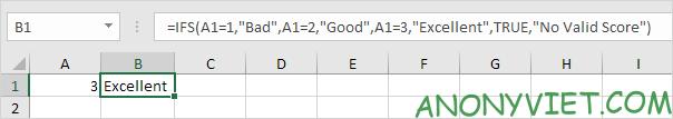 Bài 117: Cách sử dụng hàm Ifs trong Excel 38