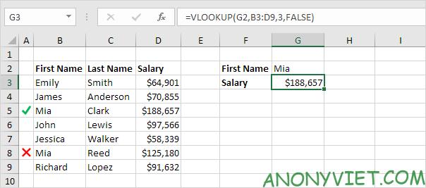 Bài 154: Cách sử dụng hàm Vlookup trong Excel 71