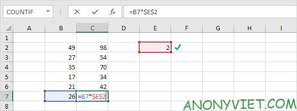 Bài 122: Cách sao chép công thức trong Excel 78