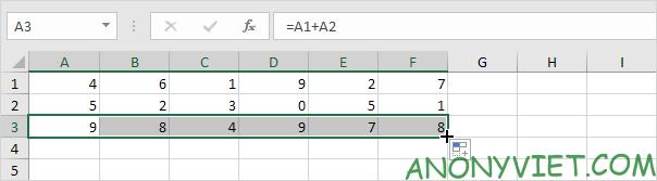 Bài 122: Cách sao chép công thức trong Excel 73