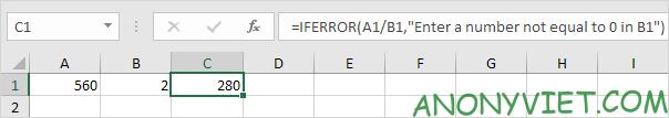 Bài 194: Cách sử dụng hàm IfError trong Excel 29