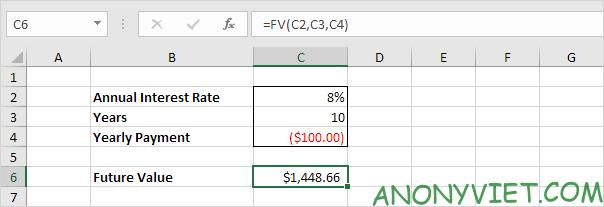 Bài 169: Tính toán khoảng tiết kiệm trong Excel 16
