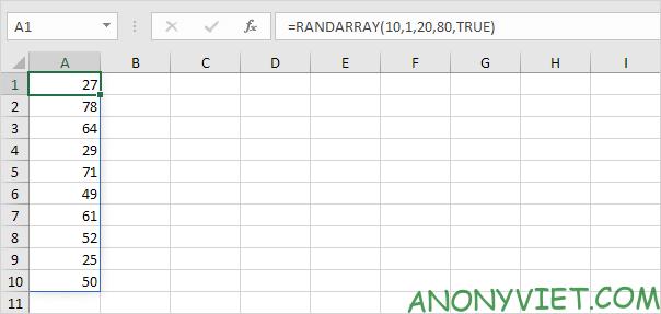 Bài 179: Cách tạo số ngẫu nhiên trong Excel 40