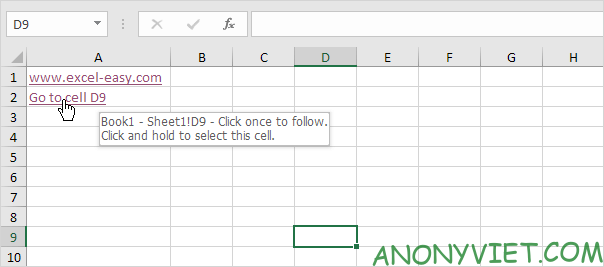 Bài 125: Siêu liên kết trong Excel 39
