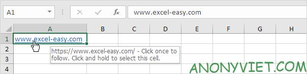 Bài 125: Siêu liên kết trong Excel 36