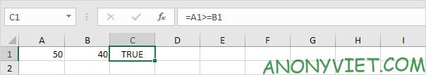 Bà 114: Toán tử so sánh trong Excel 51