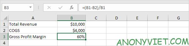 Bài 176: Tỷ suất lợi nhuận trong Excel 58