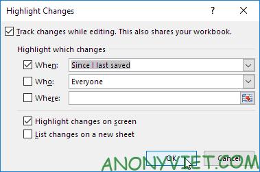Bài 92: Cách chia sẻ sổ làm việc trong Excel 47