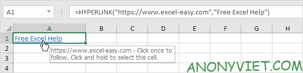 Bài 125: Siêu liên kết trong Excel 40