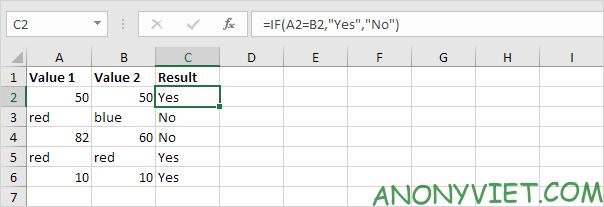 Bà 114: Toán tử so sánh trong Excel 46