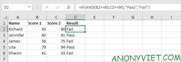 Bài 113: Cách sử dụng hàm IF trong Excel 56