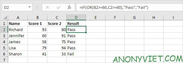 Bài 113: Cách sử dụng hàm IF trong Excel 57