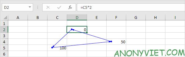 Bài 197: Tham chiếu vòng tròn trong Excel 74