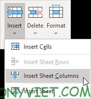 Bài 128: Cách thêm cột trong Excel 57