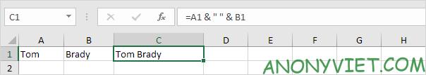 Bài 152: Cách sử dụng hàm Concatenate trong Excel 56