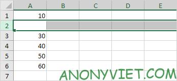 Bài 75: Cách chèn hàng trong Excel 41