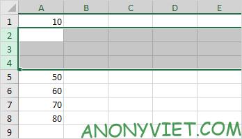 Bài 75: Cách chèn hàng trong Excel 43