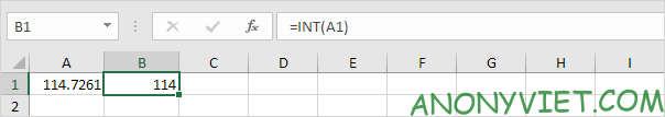 Bài 190: Rút gọn số thập phân trong Excel