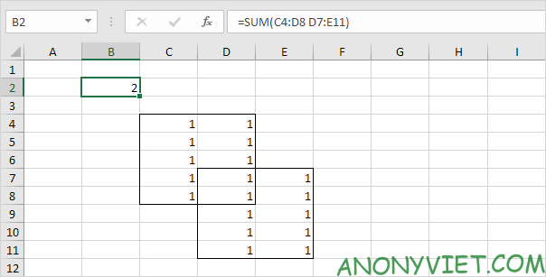 Bài 126: Liên hợp và giao nhau trong Excel 26