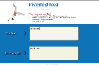 Cách tạo Chữ ngược, chữ nghiêng, gạch dưới để đặt tên, chat 2