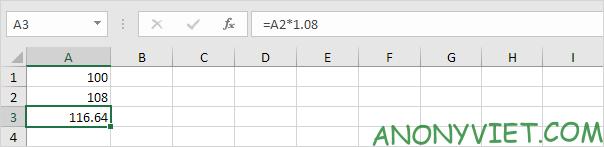 Bài 170: Cách tính lãi kép trong Excel 38