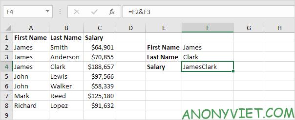 Bài 163: Tra cứu hai cột trong Excel