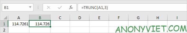 Bài 190: Rút gọn số thập phân trong Excel 32