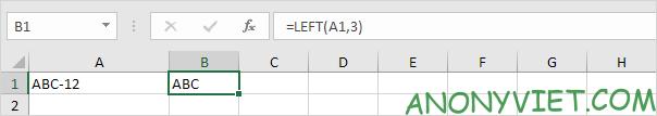 Bài 153: Cách xử lý chuỗi con trong Excel 46