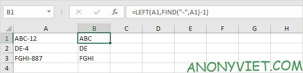 Bài 153: Cách xử lý chuỗi con trong Excel 47