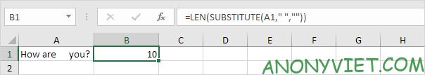 Bài 143: Cách đếm từ trong Excel 51