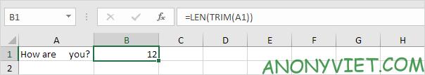 Bài 143: Cách đếm từ trong Excel 49