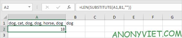 Bài 143: Cách đếm từ trong Excel 56