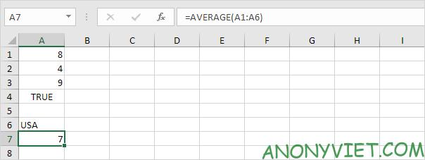 Bài 177: Cách sử dụng hàm AVERAGE trong Excel 48