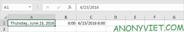 Bài 133: Định dạng Date và Time trong Excel 29