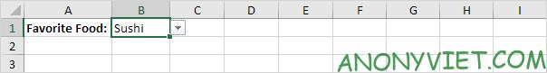 Bài 70: Cách tạo Menu xổ xuống trong Excel 99