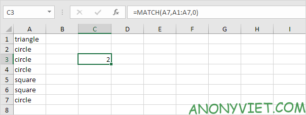 Bài 206: Từ xuất hiện thường xuyên nhất trong Excel 26