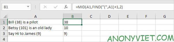 Bài 153: Cách xử lý chuỗi con trong Excel 50