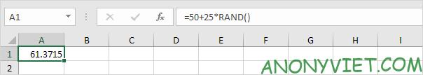 Bài 179: Cách tạo số ngẫu nhiên trong Excel 38