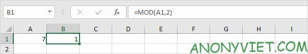 Bài 193: Cách sử dụng hàm Mod trong Excel 31