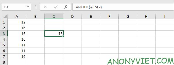 Bài 205: Từ xuất hiện thường xuyên nhất trong Excel