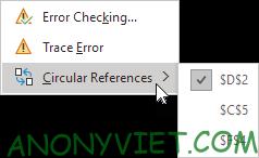 Bài 197: Tham chiếu vòng tròn trong Excel 83